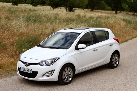 Hyundai i 20 blanco
