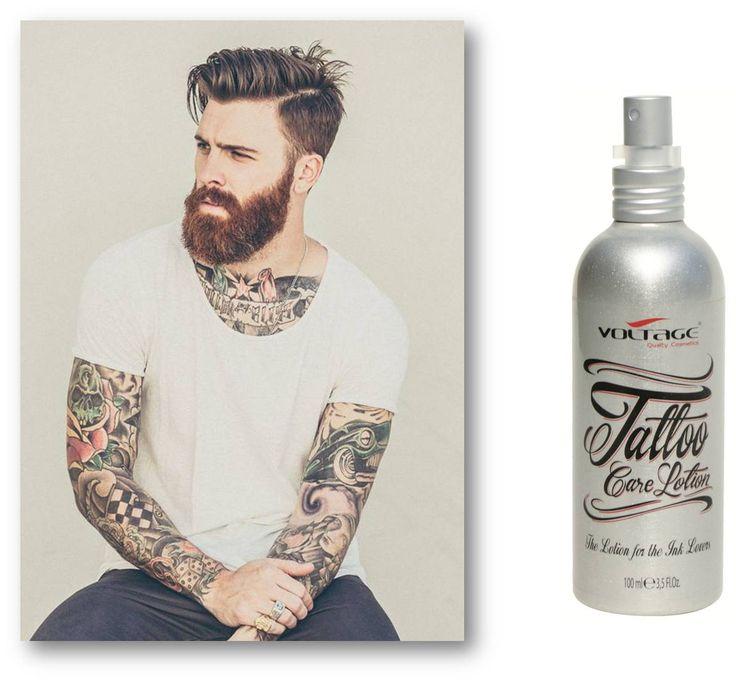 #tattoocare lotion para el cuidado de los amantes de la tinta!! http://www.voltagecosmetics.com/spa/item/ART00150.html?Descripcion=tt001&Referencia=&CampoLibre=-1&ValorCampoLibre=