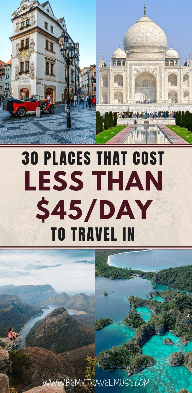 The Cheapest Travel Destinations In The World In 2021 Travel Cheap Destinations Travel Destinations Affordable Cheap Places To Travel