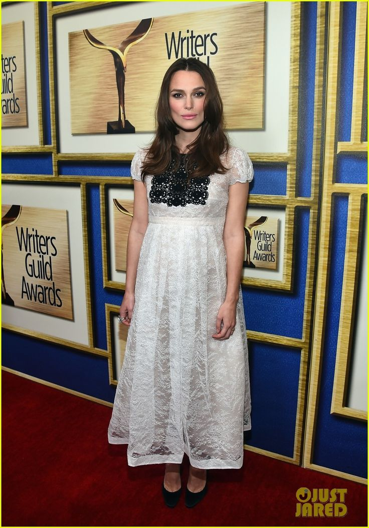 Pregnant Keira Knightley Dresses Up Her Baby Bump For Writers Guild Awards 2015