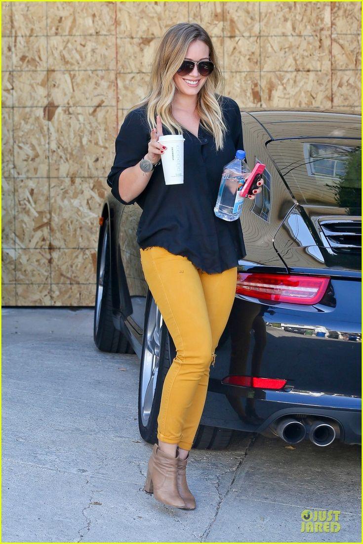 Hilary Duff. Love her hair! http://www.fancyclone.net
