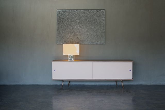 NORDIC sideboard with lacquered sliding doors by theDesignGroup_furniture ideas KALOTERAKIS S.A.,Greece www.kaloterakisgroup.gr