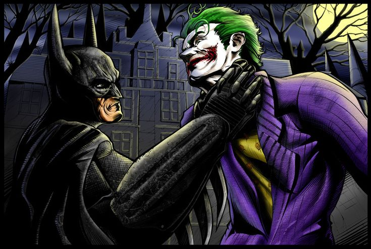 BATMAN VS JOKER by KYLE-CHANEY on deviantART