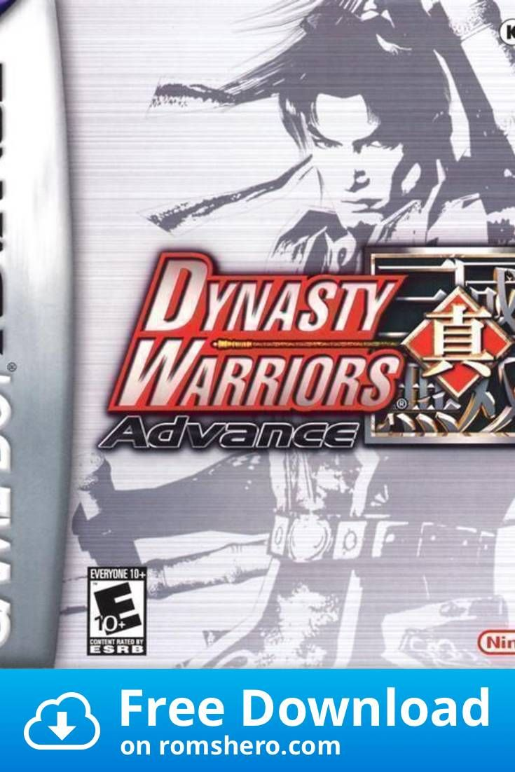 Download Dynasty Warriors Advance Gameboy Advance Gba Rom In 2020 Gameboy Advance Dynasty Warriors Gameboy