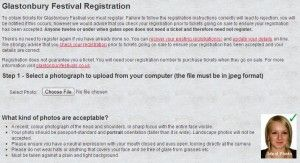 Glastonbury Festival 2014 Registration - It's the last day today, so do it now!