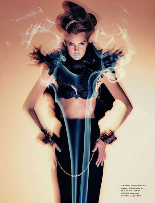 Image via We Heart It #gertrudhegelund #magazine #sebastiankim #numéro#129