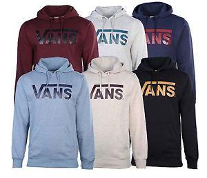 Buy Vans Mens Classic Vans Skateboarding Pullover Hoodie