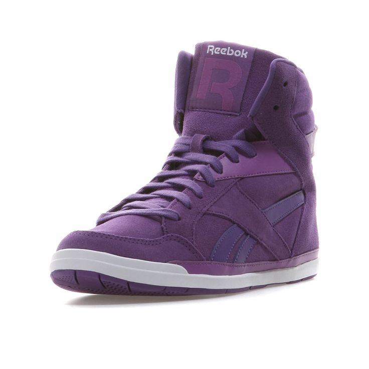 Reebok | RHYTHMCITY MID Sneaker High Damen | purple-white | www.mysportworld....