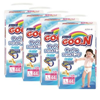 Buy GOO.N JV Pants L44 Girls x 4 Packs - Free GOO.N Baby Wipes Large & Thick 70s x 2 Packs worth $11.80! online at Lazada. Discount prices and promotional sale on all. Free Shipping.
