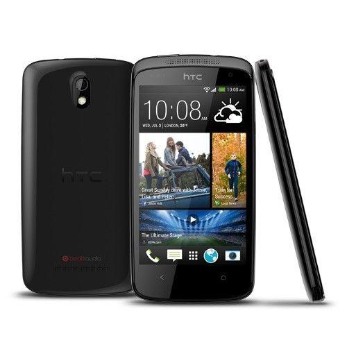 GSM HTC DESIRE 500 DUALBLACK HTC GSM HTC DESIRE 500 DUALBLACK HTC Ne zamudite niti trenutka z vedno vključenim začetnim domačim zaslonom ki se samodejno posodablja, občutljivo kamero s hitro zaslonko in možnostjo dveh SIM kartic v enem aparatu za dodatno mobilnost. Štirijedrni processor pa vam omogoča visoke hitrosti pregledovanja.