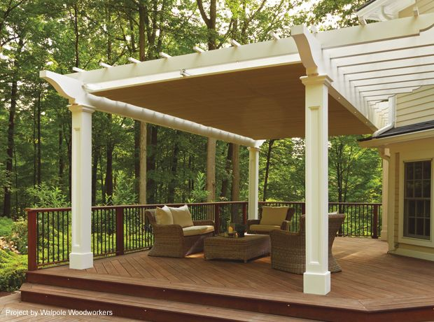Retractable pergola canopy in morris plains shadefx