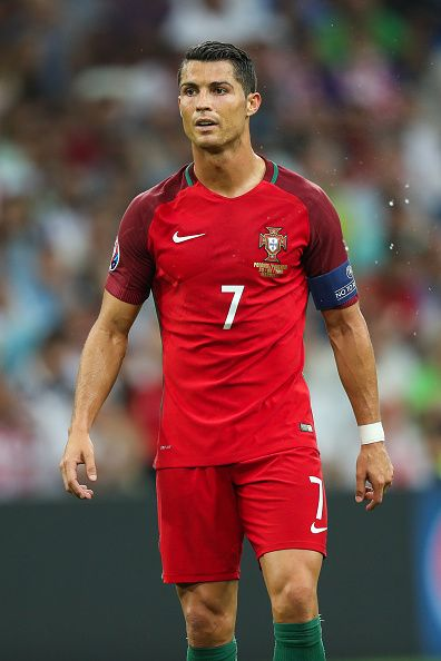 #EURO2016 Cristiano Ronaldo during the UEFA EURO 2016 quarter final match between Poland and Portugal at Stade Velodrome on June 30 2016 in Marseille France