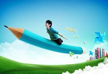 Usar un lápiz verde en vez de uno rojo para motivar a tus hijos a aprender