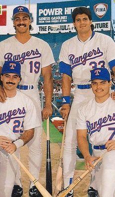 Juan Gonzalez, Jose Canseco, Rafael Palmeiro & Ivan Rodriguez