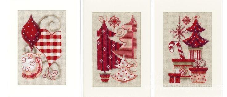 Новогодние открытки крест, кухни