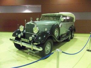 Colecciones y Museos: La colección de la Casa Real Española  Mercedez  Benz   regalo de Hitler  a  Franco
