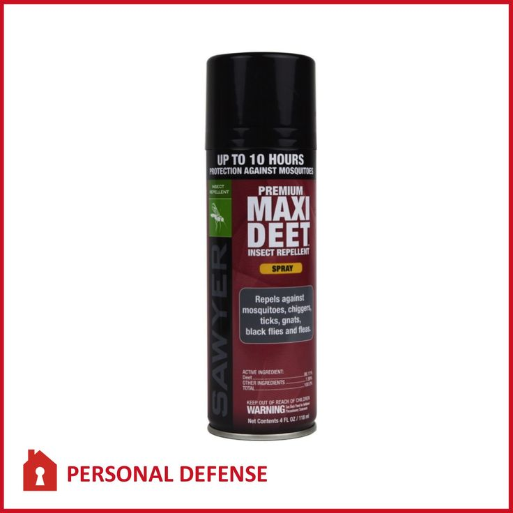 Premium Maxi Deet Insect Repellant Spray By Sawyer
