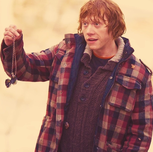 I never thought I would ever love a boy with the passion that I love Ron Weasley. Then I met my boyfriend James. He is the perfect Ron to complement my Hermione.