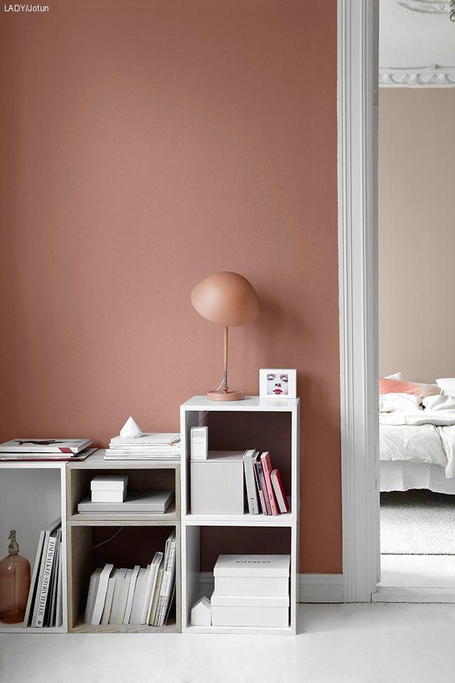 182 best images about farge inspirasjon on pinterest - Shades of pink for bedroom walls ...
