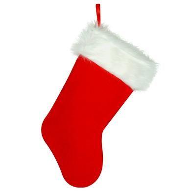 Kerstsok naaien met gratis patroon en daarmee maak je in de woonkamer een gezellige kerstsfeer. Je doet kleine cadeautjes in de kerstsok en je hangt de sok