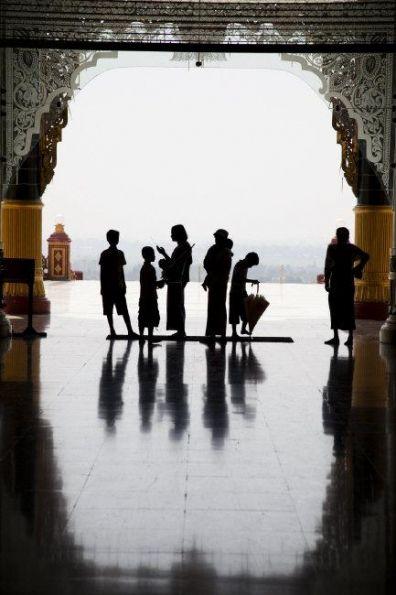 Chris Steele-Perkins, Uppasanti Pagoda, Naypyitaw, Myanmar
