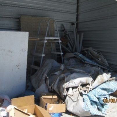 10x10. Above ground pool parts, toddler bed frame, boxes. #StorageAuction in Alamo (IB-7257). Ends Jun 25, 2016 7:00PM US/Eastern. Lien Sale.