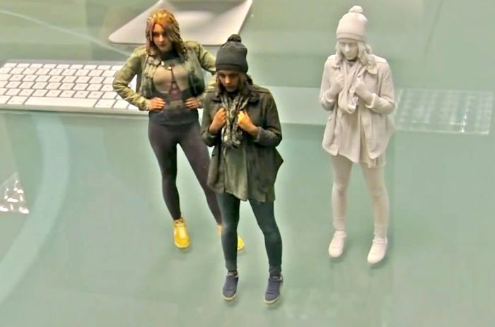 ASDA 3D Printing Service Offering 3D Printed Mini Models Of Yourself For £40 - The ASDA 3D printing service scanning process takes around 2 to 3 minutes and uses a device that captures 15 frames a second as you are scanned. Converting the scanned data into a full-colour meaning 3D printed reproduction of yourself. | via Geeky Gadgets