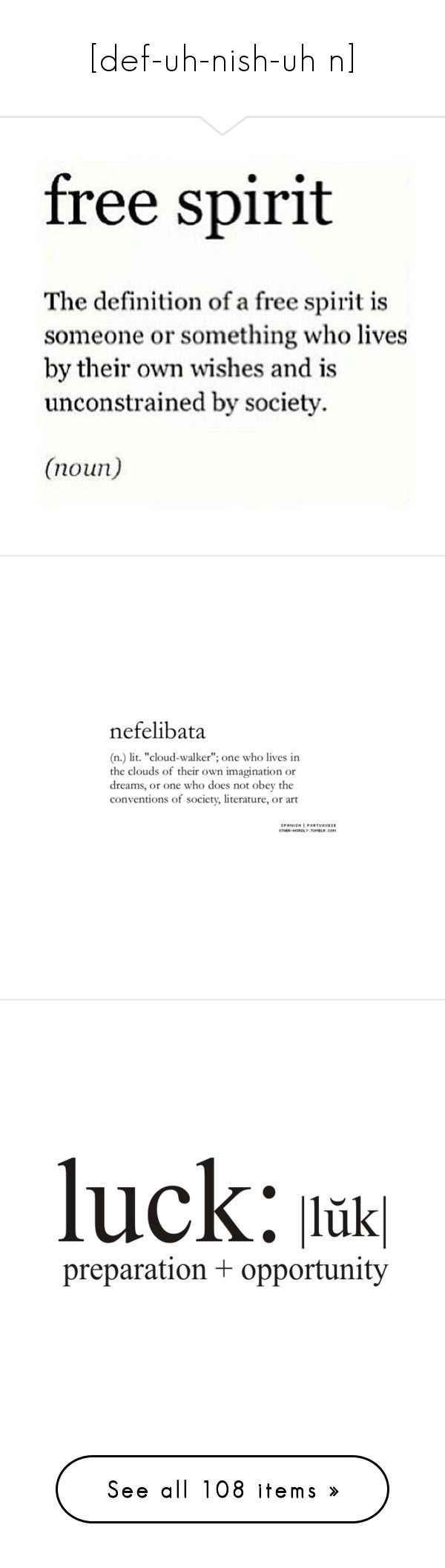 """""""[def-uh-nish-uh n]"""" by annaclaraalvez ❤ liked on Polyvore featuring text, words, quotes, fillers, definitions, backgrounds, article, magazine, headlines and effect"""