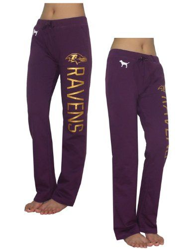 $29.99 awesome Womens NFL Baltimore Ravens Pajama Pants by Pink Victoria's Secret