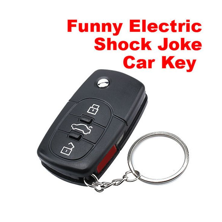 Electric Shock Gag Joke Prank Car Key Remote Control Fun with LED Light Electronic Toys #>=#>=#>=#>=#> Click on the pin to check out discount price, color, size, shipping, etc. Save and like it!