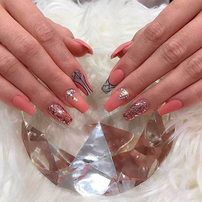 Wonderful Coral Nail Art Designs picture 1