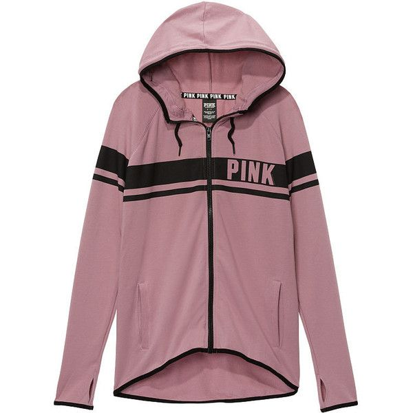 Hoodies and Sweatshirts - PINK ($60) ❤ liked on Polyvore featuring tops, hoodies, sweatshirts, crew-neck sweatshirts, purple hooded sweatshirt, hooded sweatshirt, victoria secret sweatshirt and pink hoodie sweatshirt