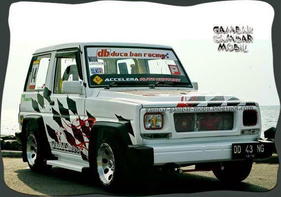 gambar modifikasi mobil daihatsu feroza