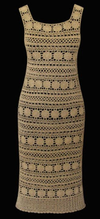 Crochet Coins dress