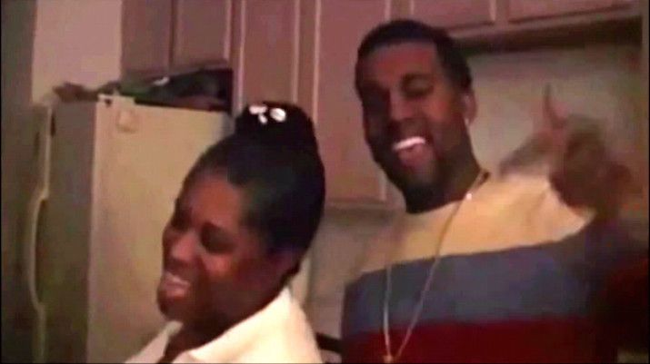 "Watch Donda & Kanye West Rap ""Hey Mama"" Together In Unearthed Video Clip"
