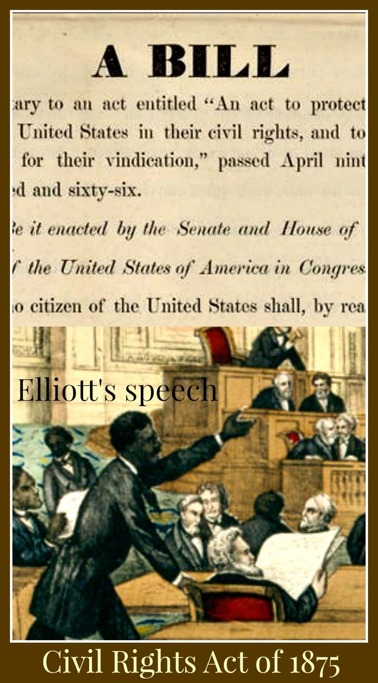 1875 civil rights essay An essay or paper on the civil rights act of 1875 debate and compromise: the civil rights act of 1875 amid the voluminous archives of 19th century civil rights history america is record of the passage of a civil rights bill introduced by a senator from massachusetts by the name of charles sumner.