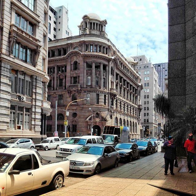 Walking around the city of Johannesburg.  #city #cityscape #street #exploreza #southafrica #travel #walk #travel.