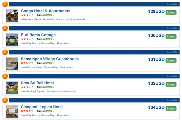 Hello, Travelers! Hotels in Bali, Indonesia have up to 75% discount when you book via HotelsInAsian.com!