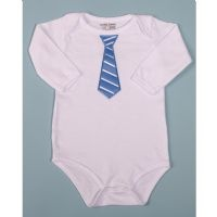 We have a short-sleeved one just like this but am afraid it might be too small for our giant baby already.