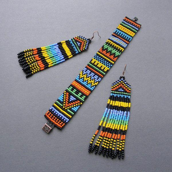 Bead loom art work                                                                                                                                                                                 More