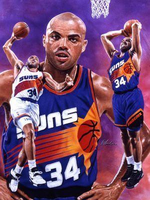 NBA Suns Roster | Charles Barkley Best Phoenix Suns Players