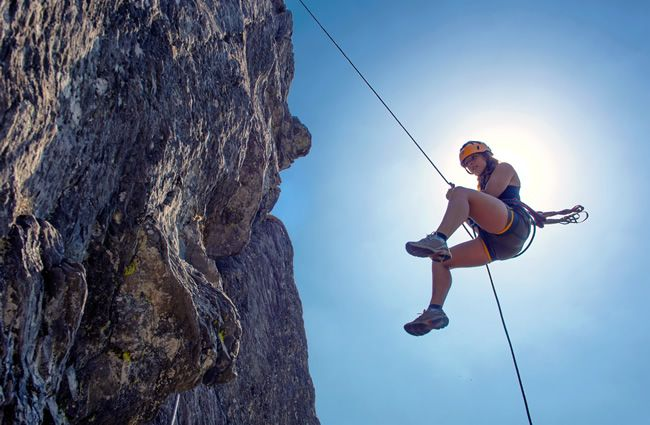 Rock Climbing & Abseiling Experiences
