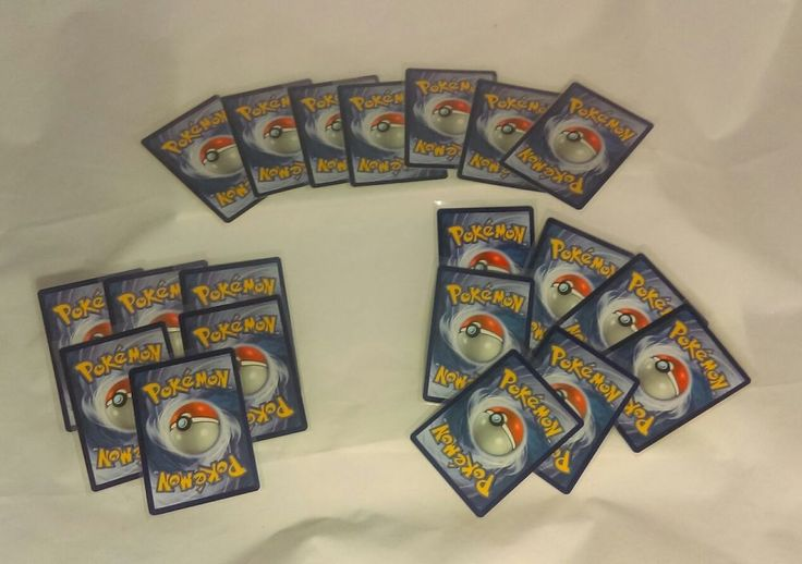 Lot of 20 Random Pokemon Trading Cards. No Duplicates. Atleast 1 Rare Card!  | Toys & Hobbies, Collectible Card Games, Pokémon Trading Card Game | eBay!