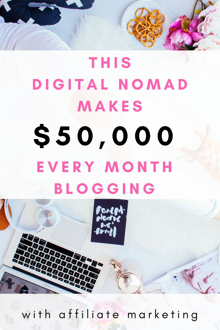 This digital nomad makes money online with blogging. You can start making money online blogging as a new blogger with affiliate marketing, and she explains everything in this course, it was very interesting even as a pro blogger. This digital nomad makes six figures a year with affiliate marketing and sponsorships blogging.