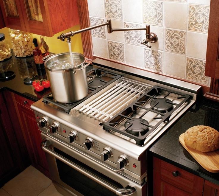 Attractive Kitchen Pot Filler Faucets Design Ideas