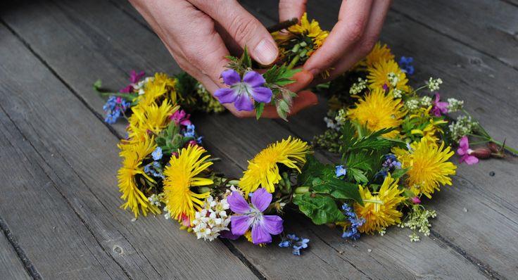Beautiful Flower Ring for Midsummer