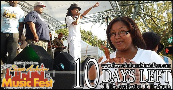 10 More Days till the best festival in the Atl! Something there for everyone in the Family! Hope to see you there! @sweetauburnmusicfest  #sweetauburnmusicfest #samusicfest #samusicfest2017 #Atlanta #picoftheday #1 #hiphop #randb #musicians #music #soul #jazz #gospel #fest #festival #auburnave #edgewood #4thward #history #vendors #food #international #Georgia #family #friends #people #goodfoodgreatmusic