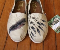 Dream catcher Toms <3: Fashion, Craft, Dream Catchers, Style, Clothes, Toms Shoes, Dreamcatcher Toms