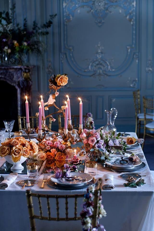 Abundant and beautiful table setting