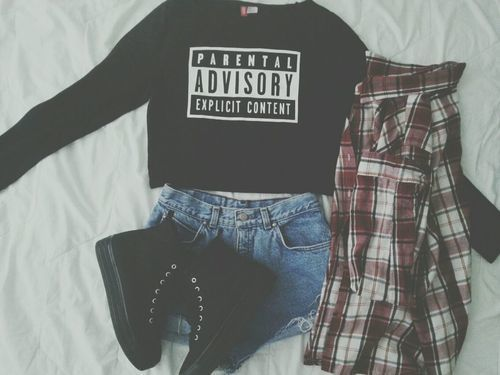 Grunge clothes.